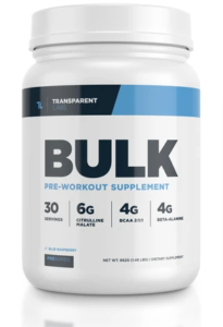 Bulk Pre Workout Supplement