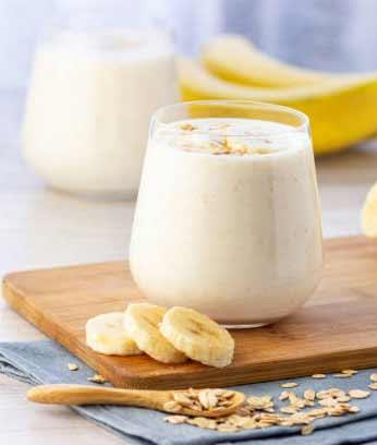 Frozen Bananas Protein Shake