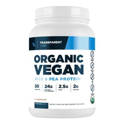 Transparent Lab Organic Vegan Protein